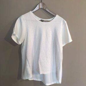 J. Crew - White Shirt Size M Medium